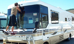 RV Detailing Roof Repair