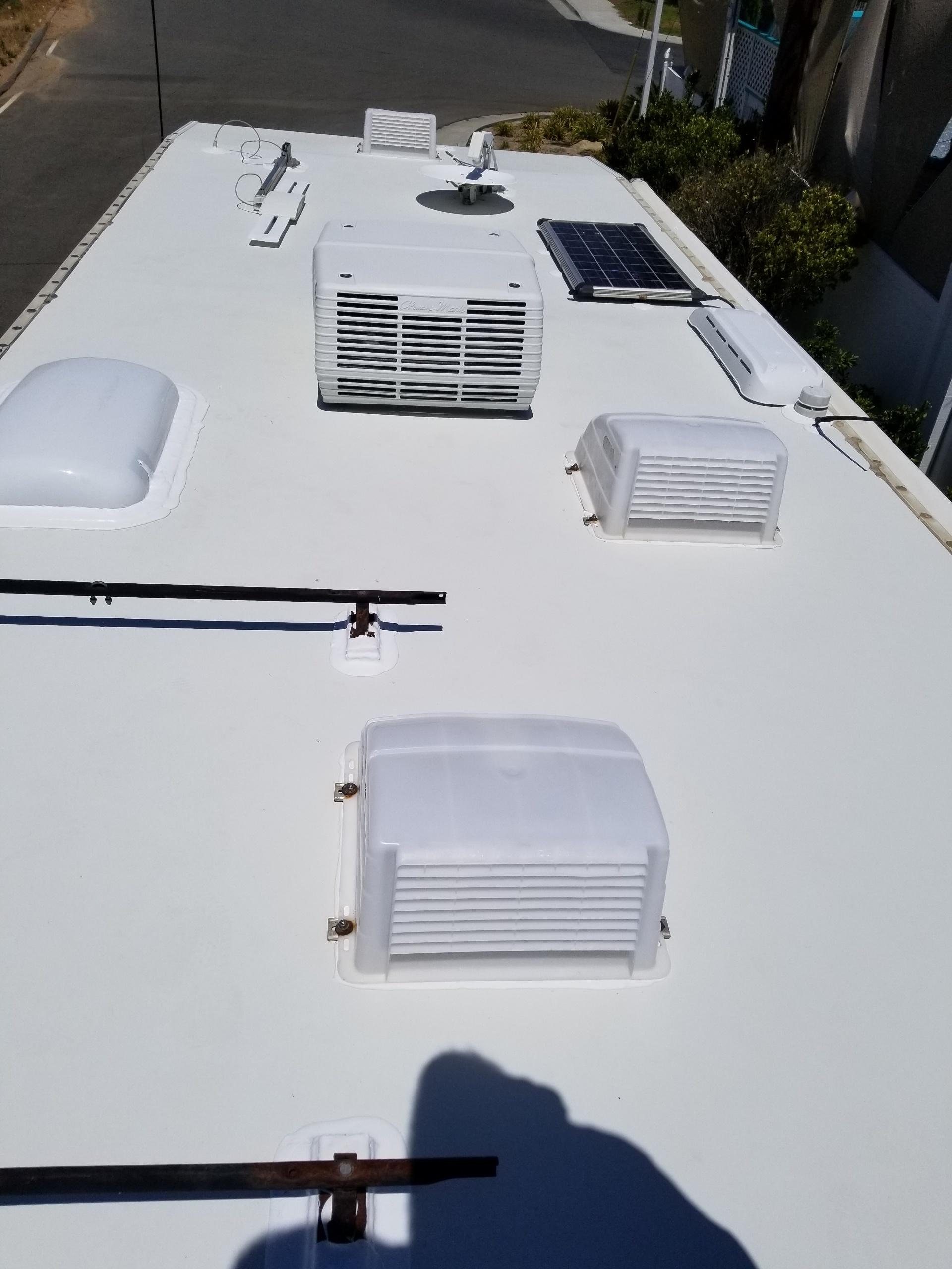 RV Roof waterproofing